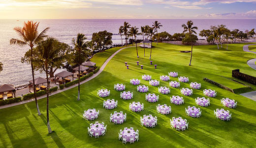 Fairmont Orchid Hawaii | メリアウエディングス | Melia Weddings Big Island, Hawaii